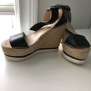 Authentic Chloe Wedges, Size 6